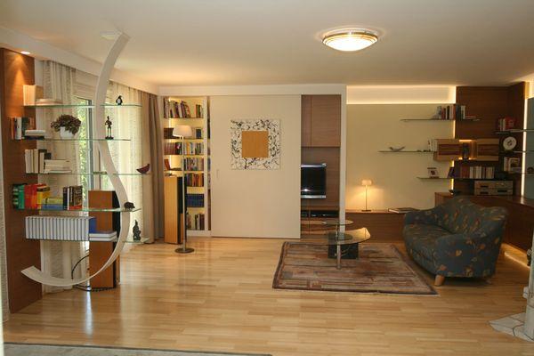Wohnraum Neugestaltung Innenarchitektur