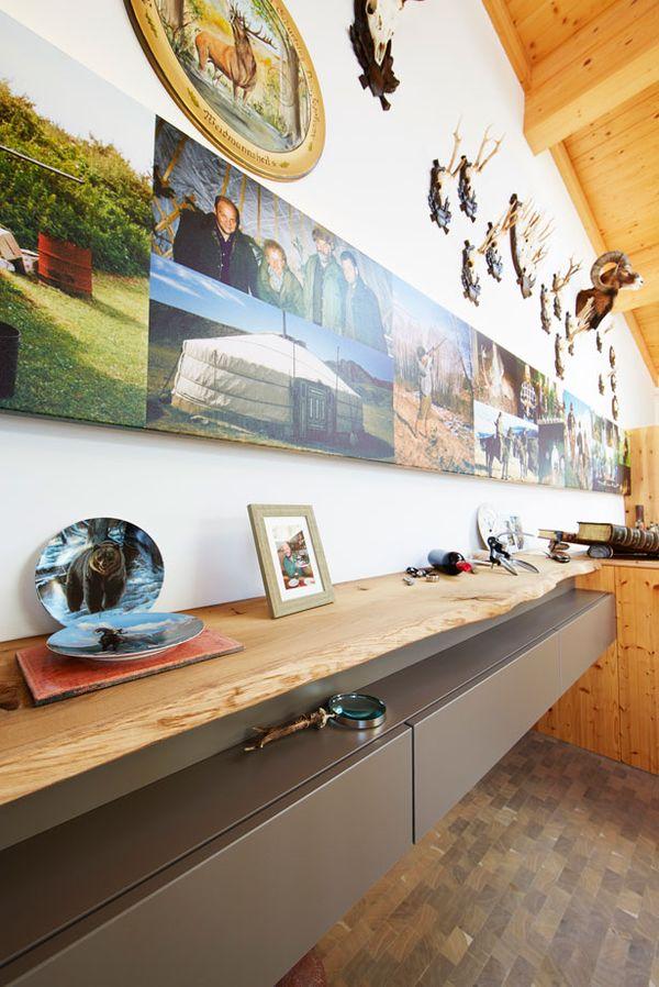 Details Jagdzimmer Penthouse - Innenarchitektur
