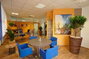 Büro - Farbgestaltung