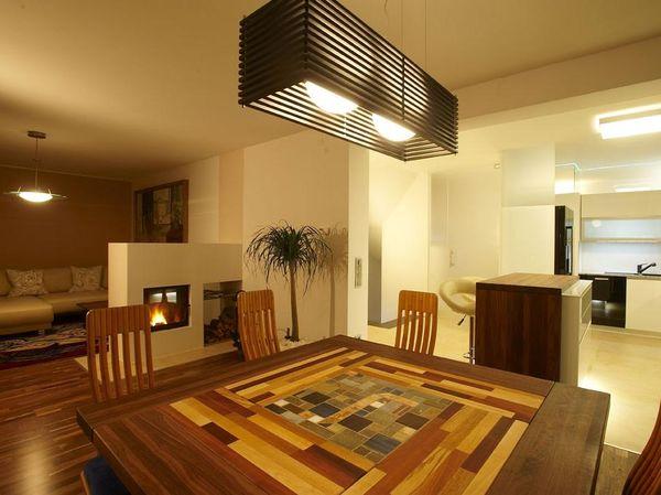 Ess- und Wohnbereichplanung und Einrichtung