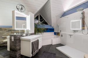 Badezimmer mit Mehrwert