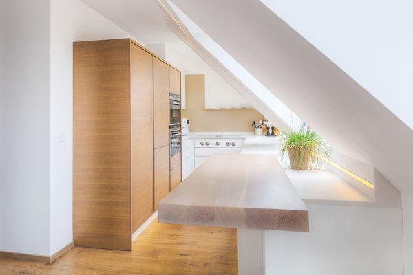Dachgeschoss Küche Innenarchitektur