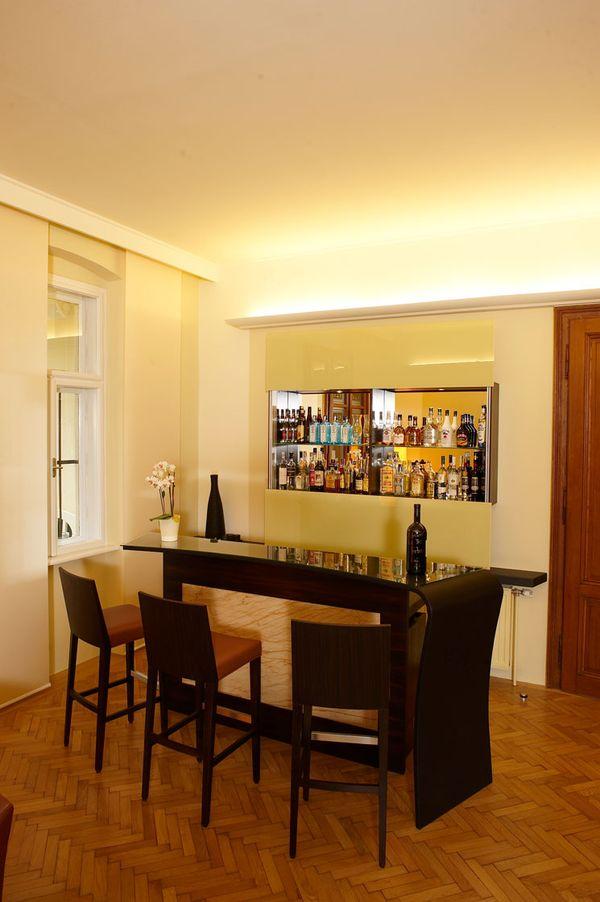 Wohnbereich Bar Innenraumgestaltung