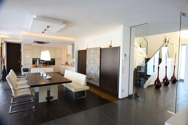 Wohnraumgestaltung Küche und Essbereich