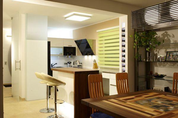 Küche offene Wohnraumplanung