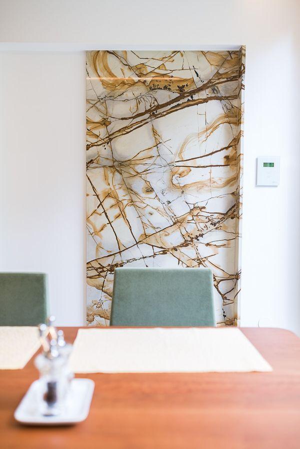 Küche Dekoration-Wandelement Sanierung