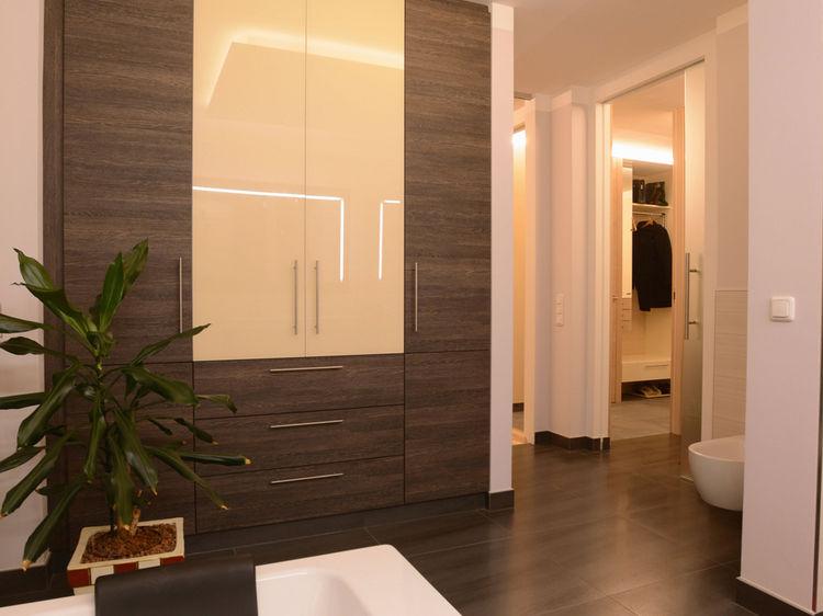 Innenarchitektur Badezimmer Stauraum