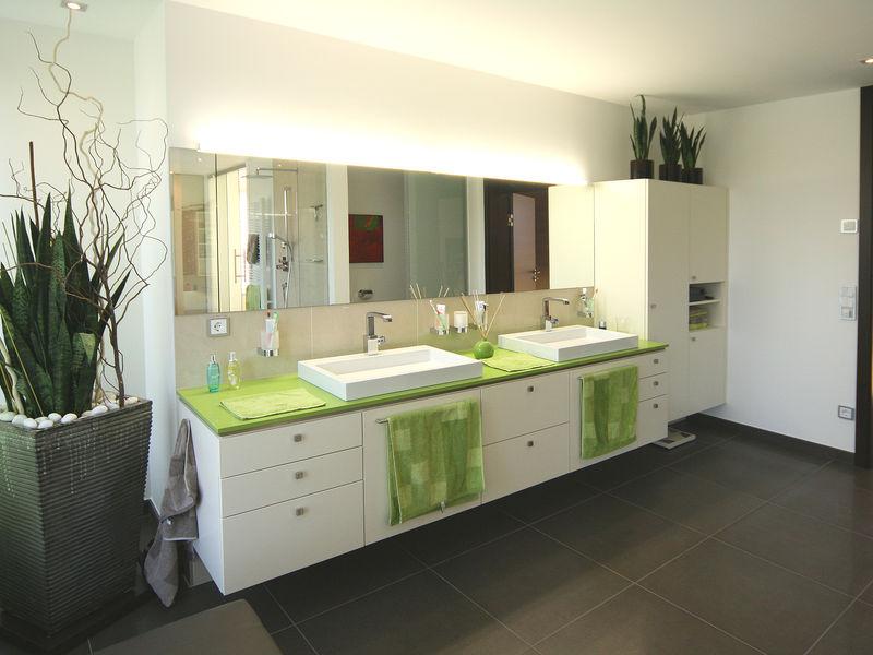 Waschtische Badezimmer Innenarchitektur