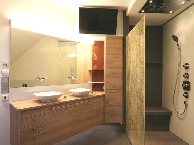 Badezimmer Beleuchtung Innenarchitektur
