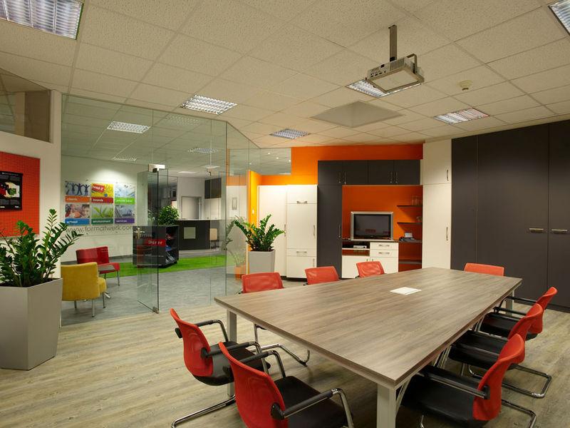 Bürogestaltung Besprechungsraum
