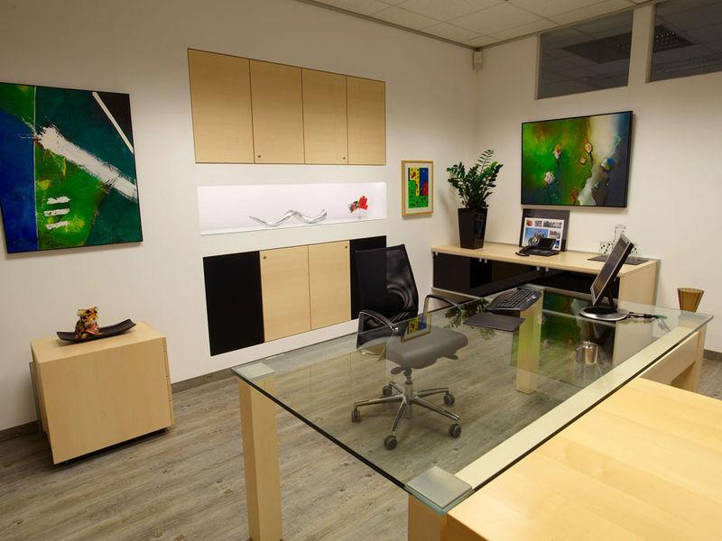 Geschäftsführer-Büro Raumgestaltung