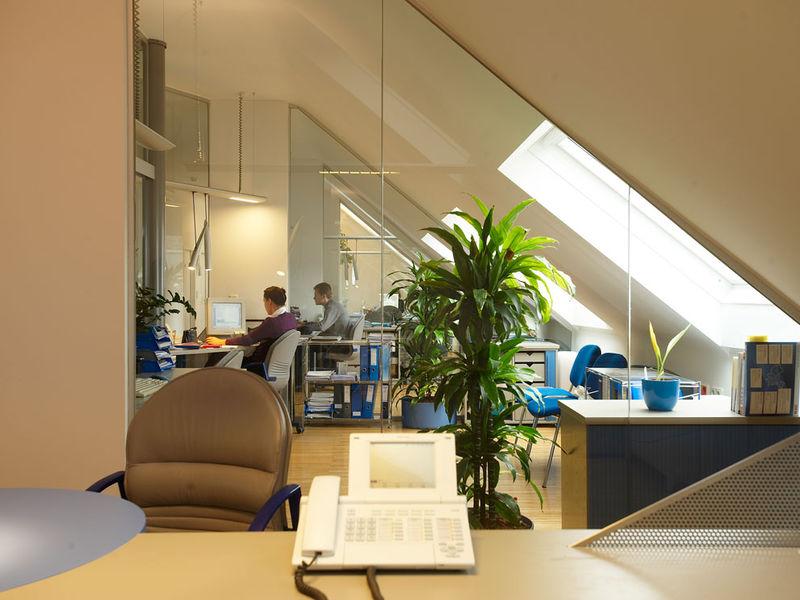 Einzelbüro Innenraumplanung und Einrichtung