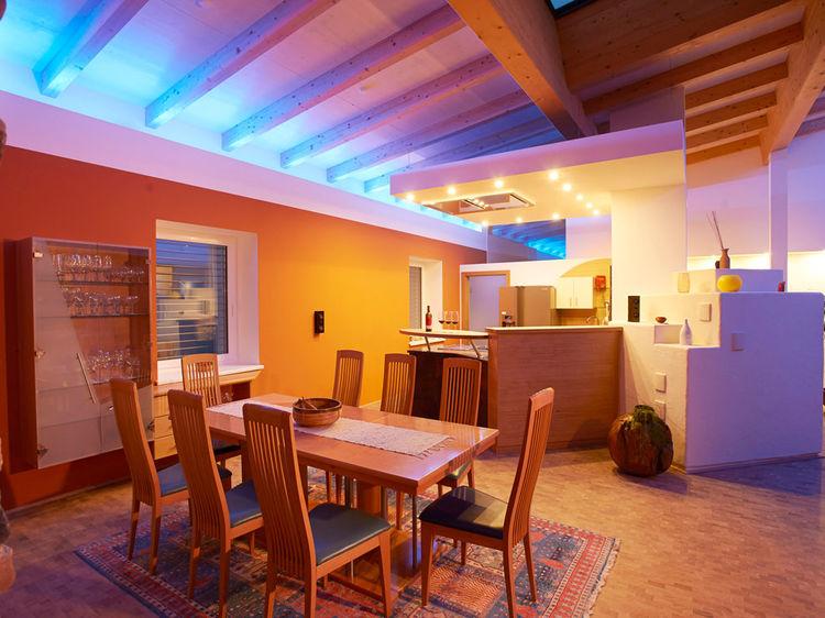 offener Wohnraum Penthouse Innenarchitektur