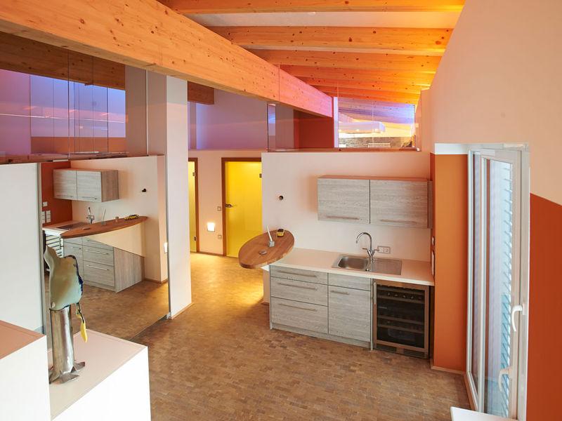 Penthouse Eingangsbereich Innenarchitektur