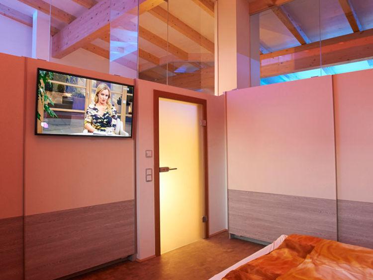 Schlafzimmer Penthouse Innenarchitektur