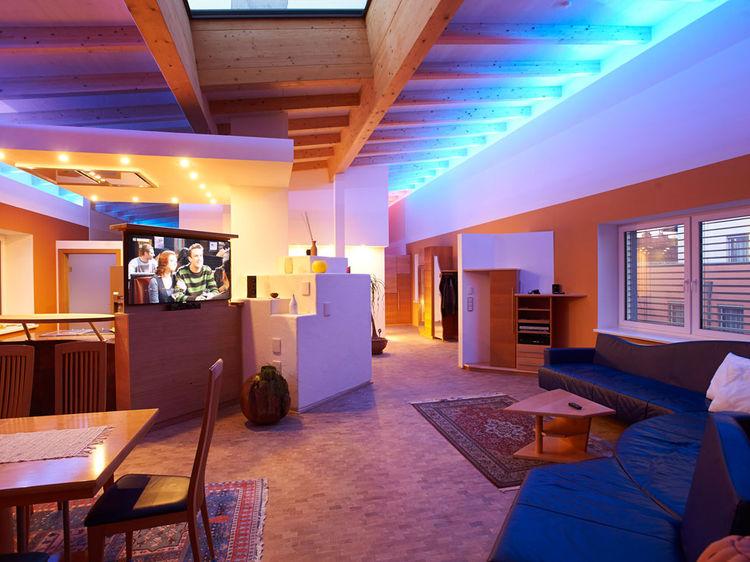 offener Wohnraum Innenarchitektur Penthouse