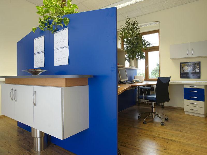 offene Bürogestaltung Innenarchitektur