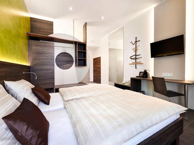 Doppelzimmer Hotel Innenarchitektur
