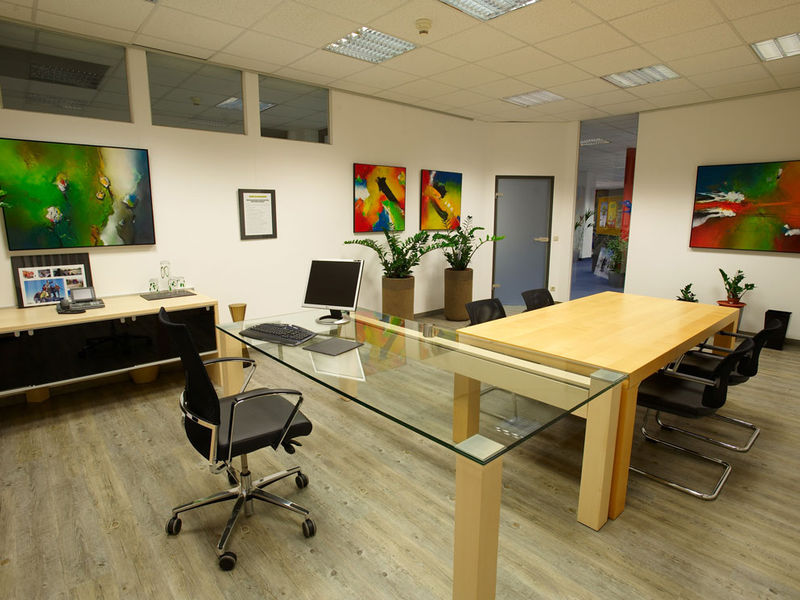 Einzelbüro Neugestaltung Innenarchitektur