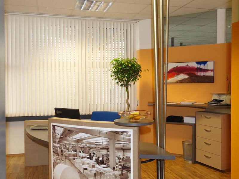 Bürogestaltung im Corporate Design