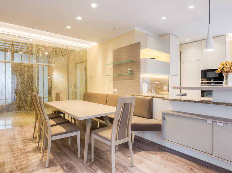Innenarchitekt - Umbau Wohnbereich Esszimmer Küche