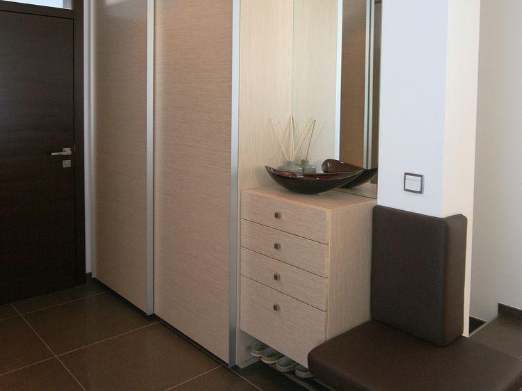 Garderobe Gesamtraumplanung