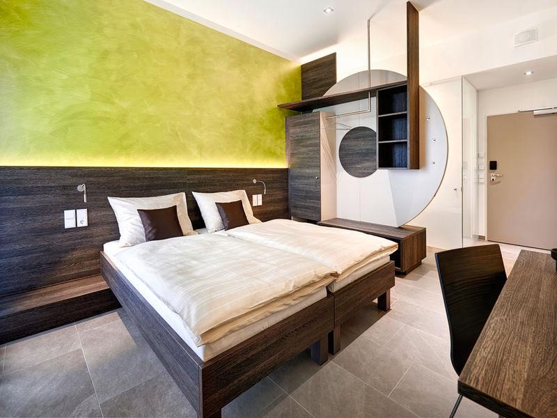 Raumgestaltung und Innenarchitektur Hotelzimmer