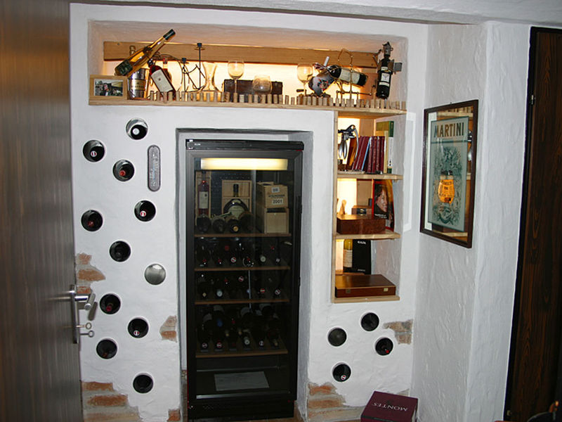 Kellerbar Hausneugestaltung Innenarchitektur