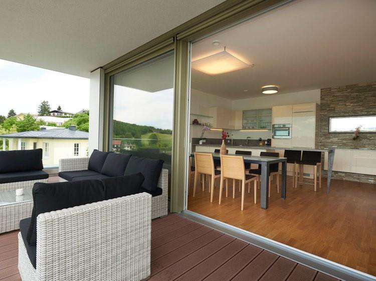 Terrasse Wohnraumgestaltung Raumplanung