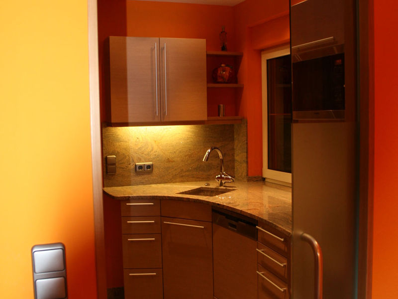 Küche Gesamtlösung Innenarchitektur