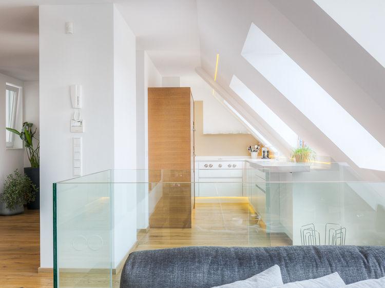 Dachgeschosswohnung Innenraumplanung