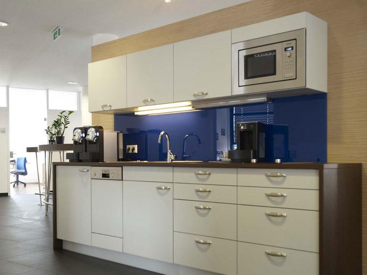 Büro Küche Innenarchitektur