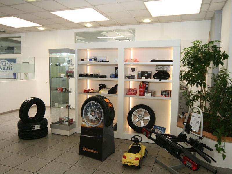 Autohaus Kundenwartebereich Innenarchitektur