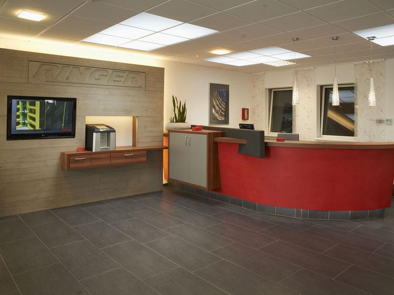 Corporate Design Inneneinrichtung Büro