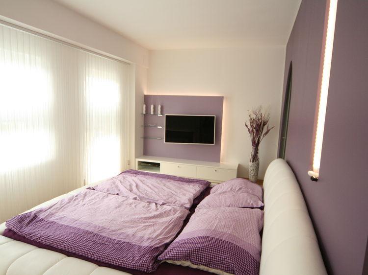 Schlafzimmer Innenraumplanung und Einrichtung