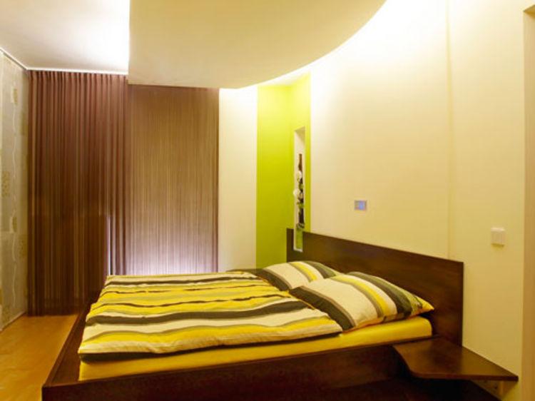 Schlafzimmer indirekte Beleuchtung