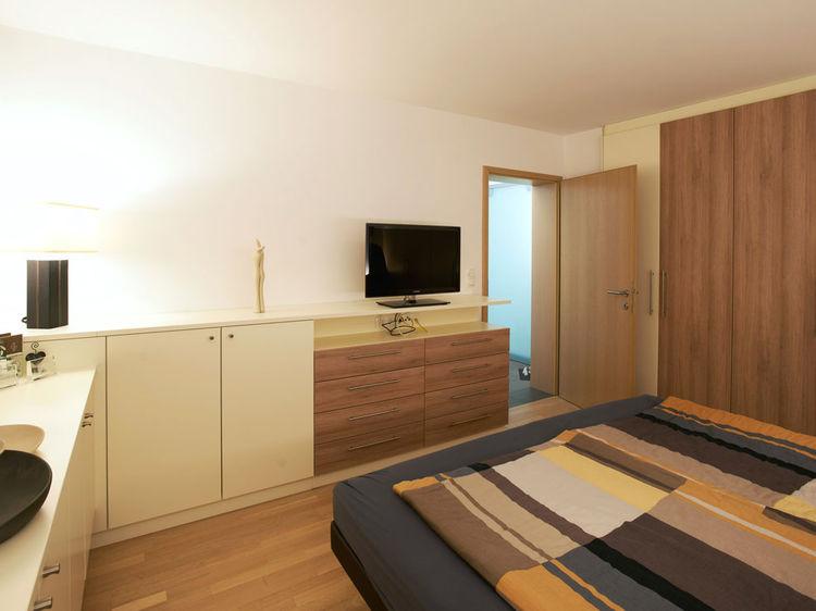 Schlafzimmer Innenraumgestaltung