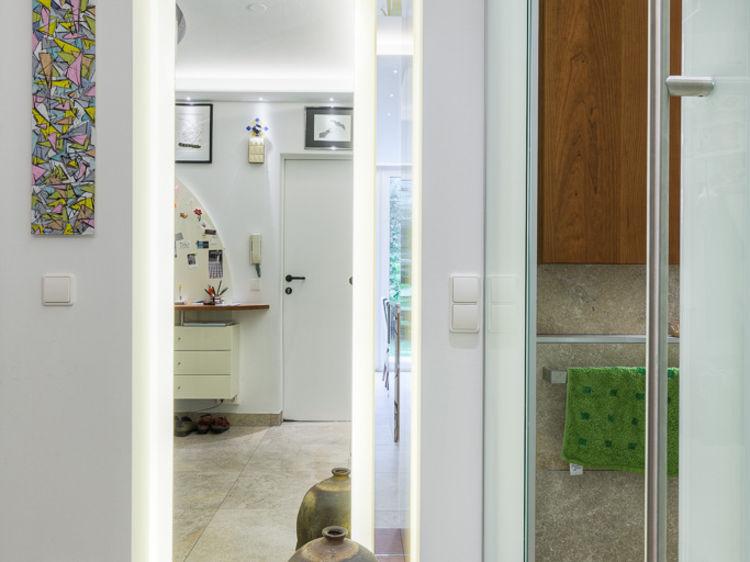 Vorraum Glasschiebetüren Sanierung