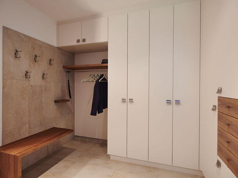 Garderobe Innenraumplanung