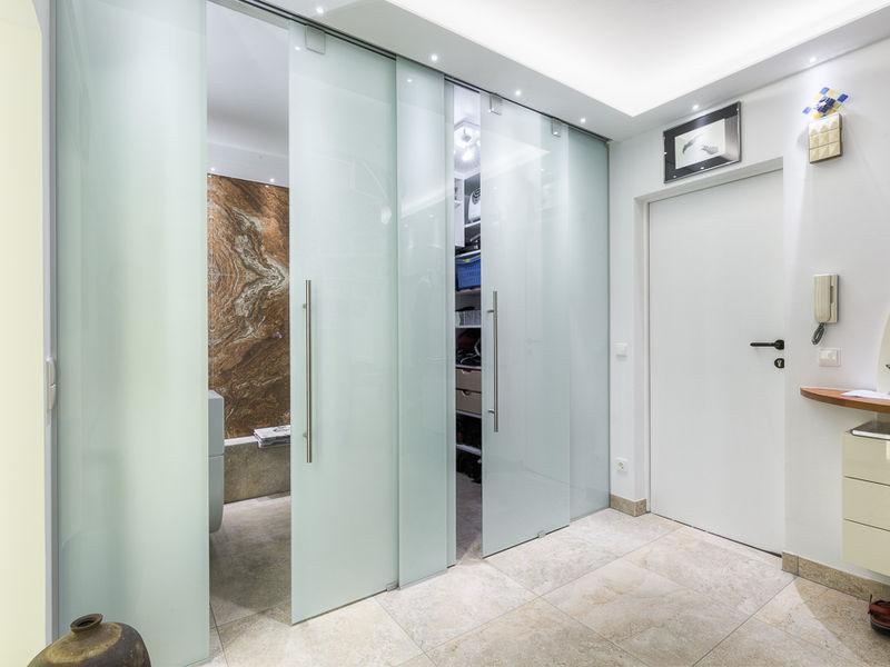 Vorraum WC und Abstellraum Innenarchitektur