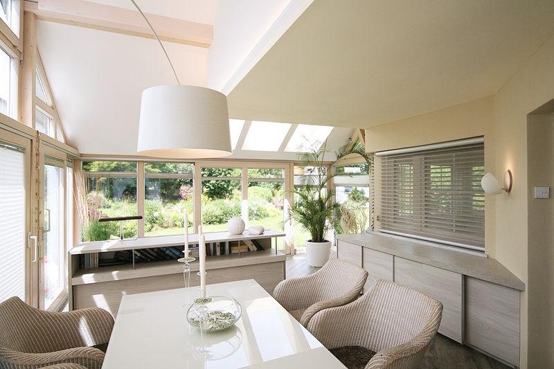 winterg rten wohnen mit der natur. Black Bedroom Furniture Sets. Home Design Ideas