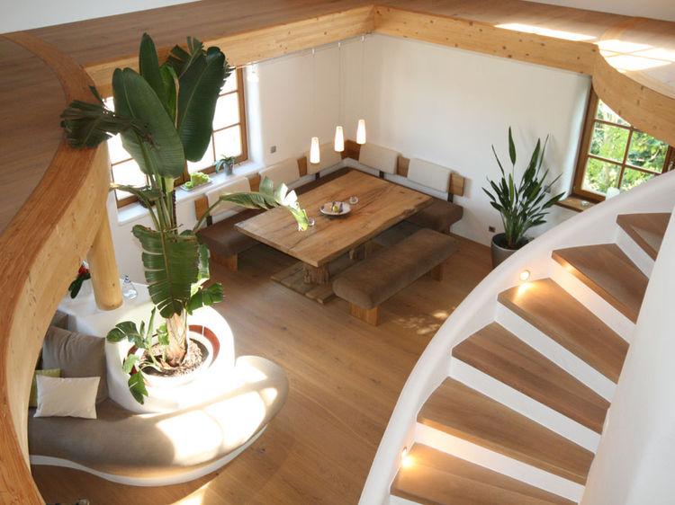 offene Wohnraumgestaltung Innenarchitektur