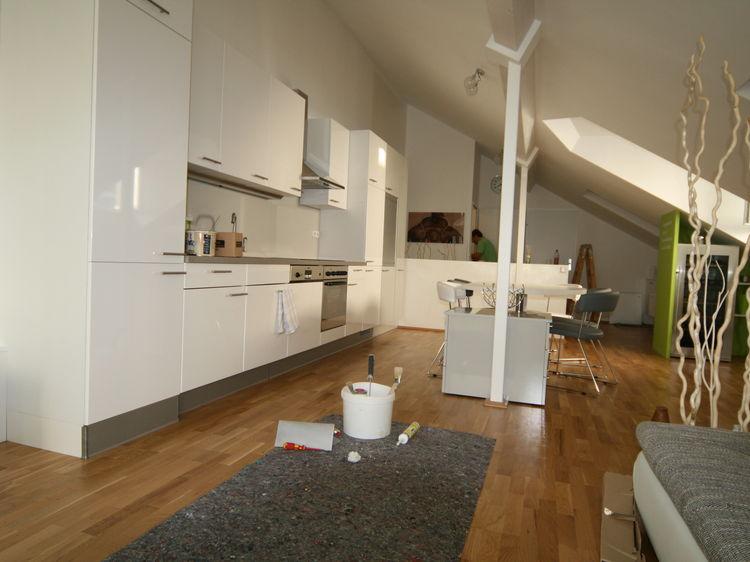 Wohnungsumbau Neugestaltung Innenarchitektur
