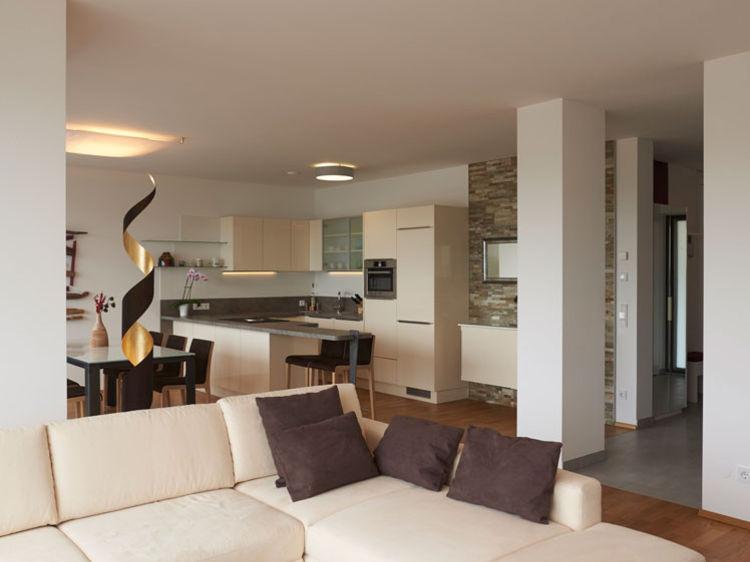 offene Wohnraumplanung