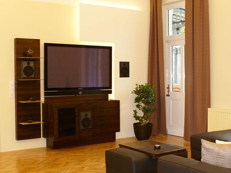 Wohnzimmer Umgestaltung Innenraumplanung