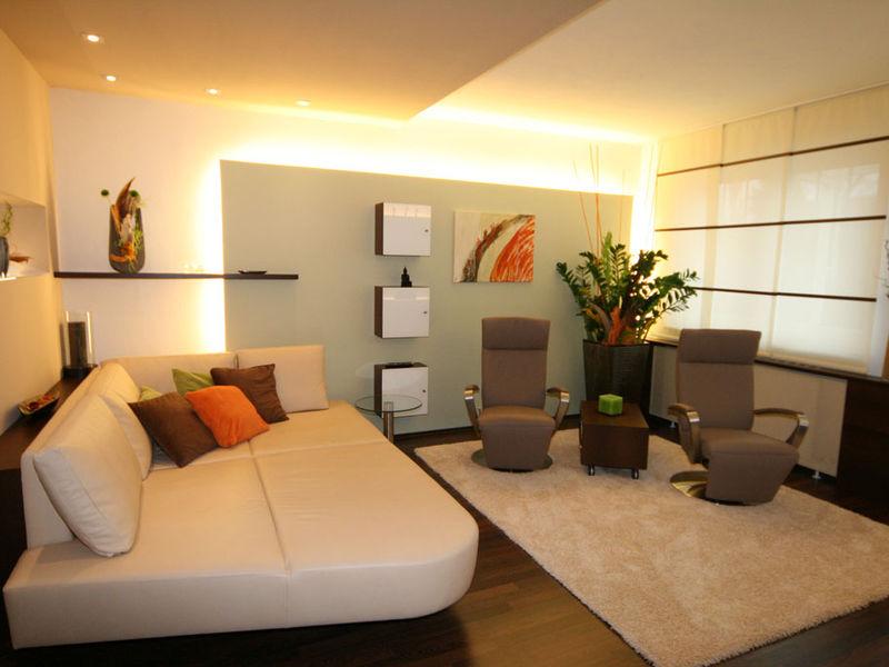 Wohnzimmer offene Raumgestaltung