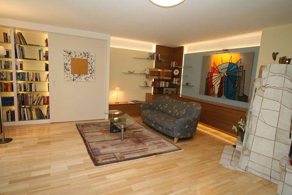 Wohnzimmer Innenraumplanung