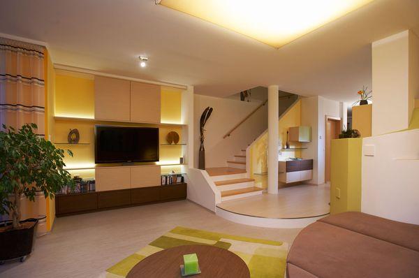 offener Wohnraum Innenraumgestaltung