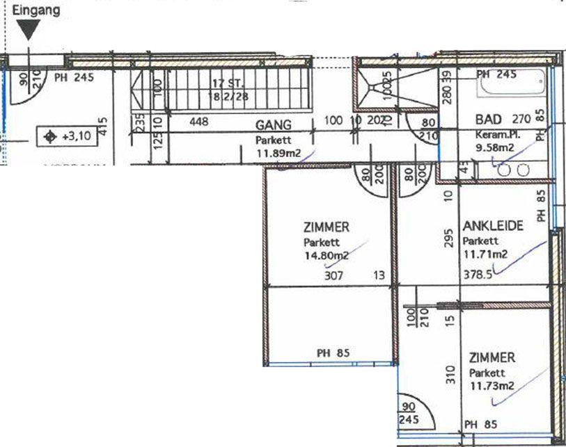 Haus bauen kaufen Lechner vorher