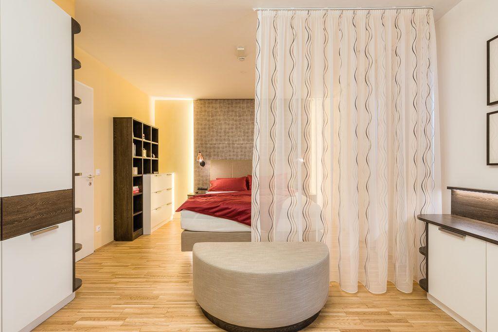 Schlafzimmer St.Poelten Renovierung Lang3 1024x683 - Kleine gemütliche Wohnung mit viel Funktion